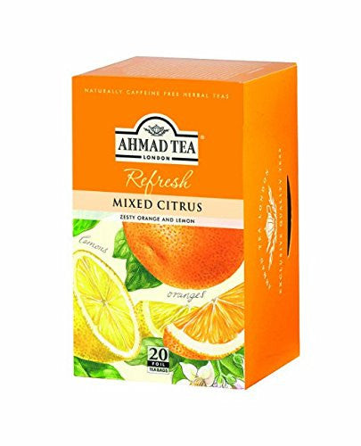 Ahmad Herbal Tea Mixed Citrus 20 Tea Bags