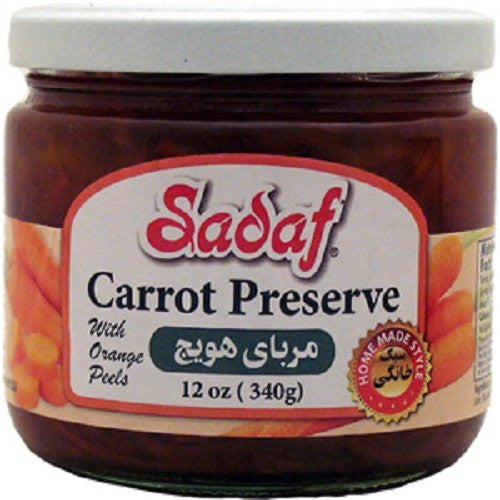 Carrot Preserve with Orange Peels Sadaf 12OZ