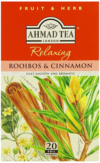 Ahmad Herbal Tea Cinnamon & Rooibos 20 Tea Bags