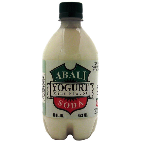 Abali Yogurt Soda Mint 16fl.OZ