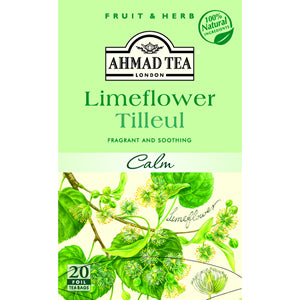 Ahmad Herbal Tea Limeflower 20 Tea Bags