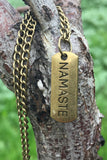 Namaste Necklace #I1006