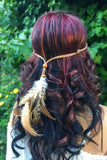Tribal Feather Headband #B1059