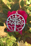 Silver Tree of Life Necklace #I1115
