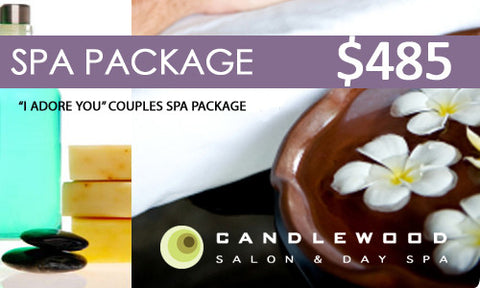 """I Adore You"" Couples Spa Package"