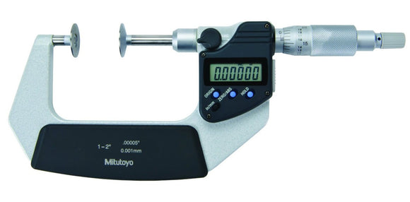 369-351-30 Mitutoyo Disc Micrometer Non-Rotating Spindle 1-2