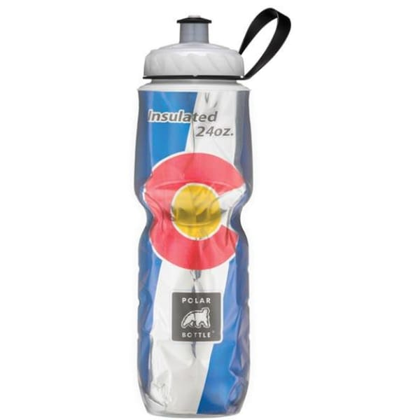 Polar Bottle State Flag Insulated Water Bottle: 24oz