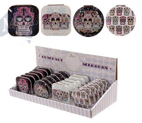 Candy Skull Pill Holder