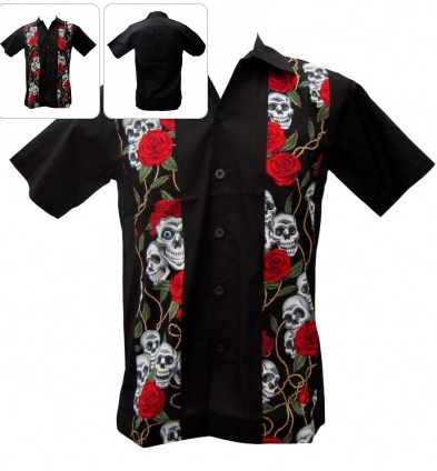 Deuce Day Embroidered Mens Work Shirt
