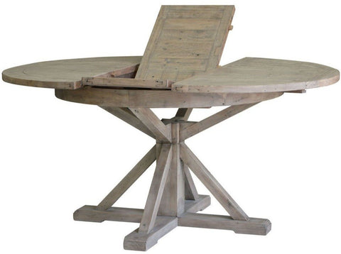 MIXED SOLID WOOD REGULAR DINING TABLE