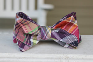 Palmetto Patchwork Bow Tie