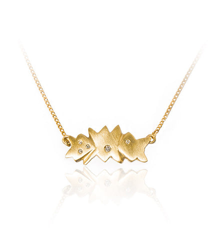 Asterism pendant (Fairtrade Gold)