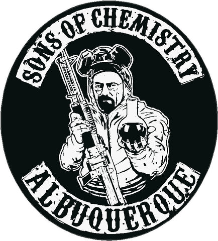 Sons of Chemistry Decal Breaking Bad