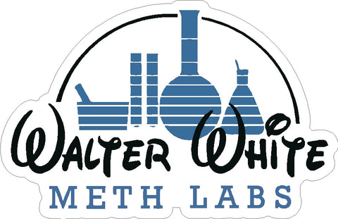 Walter White Meth Labs Decal