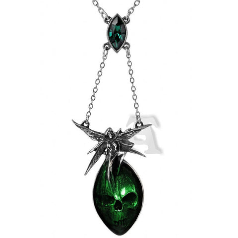 Absinthe Fairy Pendant Necklace by Alchemy Gothic