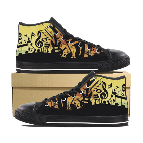 Sun Music Designer High Tops ( Limited Edition )