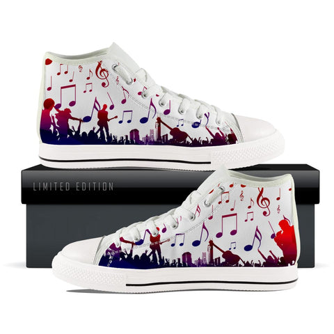 Part Band Music Motes Mens High Top