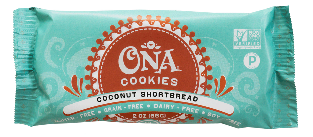 Ona Coconut Shortbread Cookies