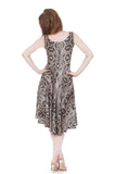 snake scale signature tank dress - Poema Tango Clothes: handmade luxury clothing for Argentine tango