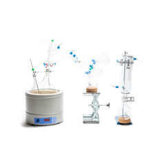 Distillation Glass Package with Accessories