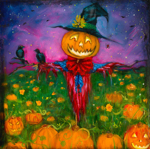 The Happy Scarecrow - Print