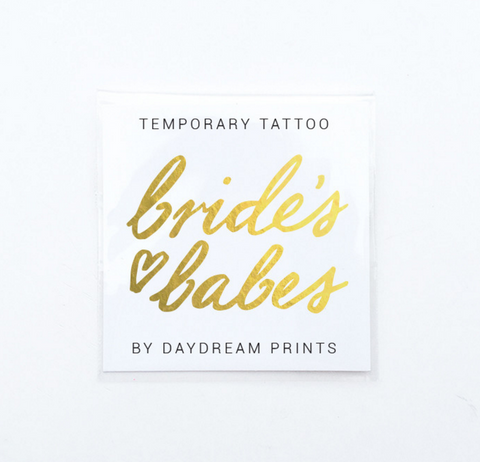 Daydream Prints Single 'Bride's Babes' Flash Tattoo