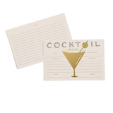 Rifle Paper Co. Cocktail Recipe Cards