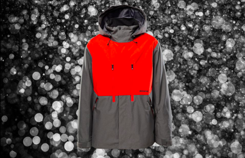 Name Droppin' with Snowboarder Mag - The Firma Jacket