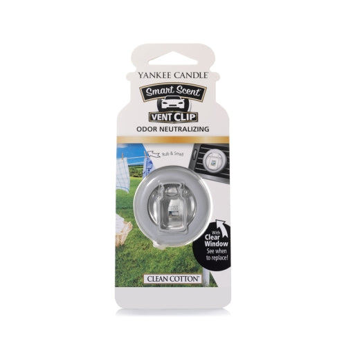 Yankee Candle Clean Cotton Smart Scent Vent Clip