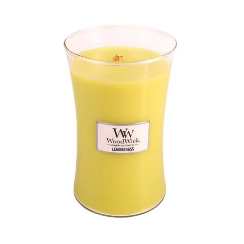 WoodWick Lemongrass Large Geurkaars