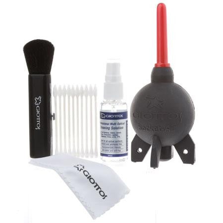 Giottos Lens Cleaning Kit with Small Rocket Air Blower - 6917