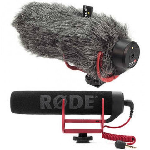 Rode VideoMic GO On-Camera Shotgun Microphone with DeadCat Go