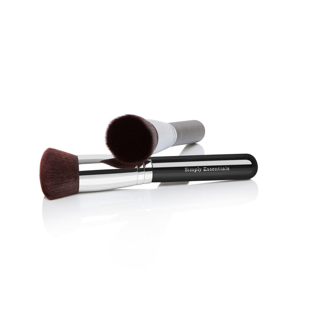Kabuki Makeup Brush Flat Top - Professional Quality