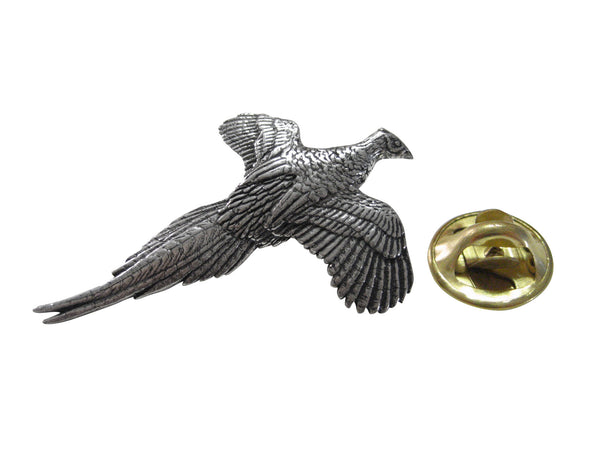 Pheasant Bird Lapel Pin