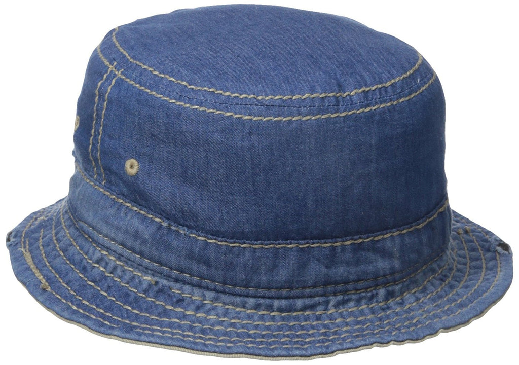 True Religion Reversible Denim Bucket Hat - TR1796