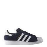 MENS ADIDAS SUPERSTAR SUEDE SNEAKERS