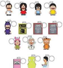 "2019 SDCC Bob's Burgers Kid Robot 1.5"" Keychains Series 1 blindbox - (con pickup only)"