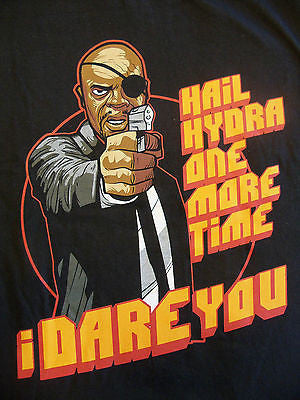 TeeFury T-Shirt - Hail Hydra - Marvel Fury Avengers Pulp Fiction - Adult XL