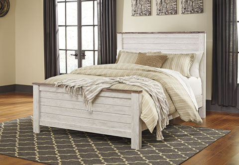 Willowton Bed Collection SET #B267 ASH