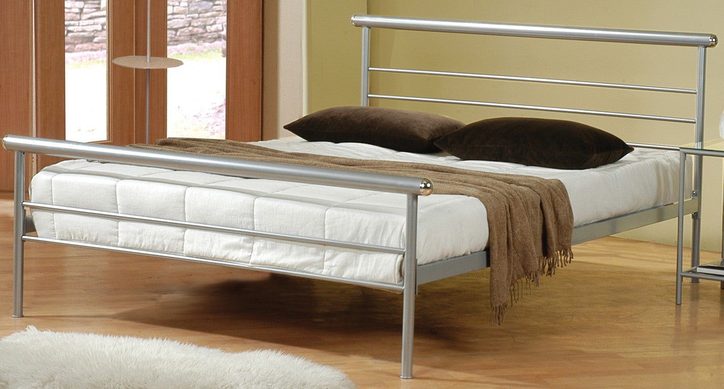 Sleek Metal Bed #300181 COA