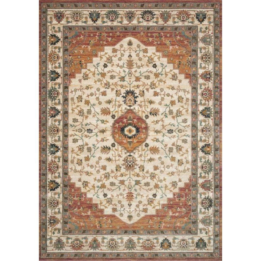 Joanna Gaines Evie Rug Collection - Ivory/Terracotta