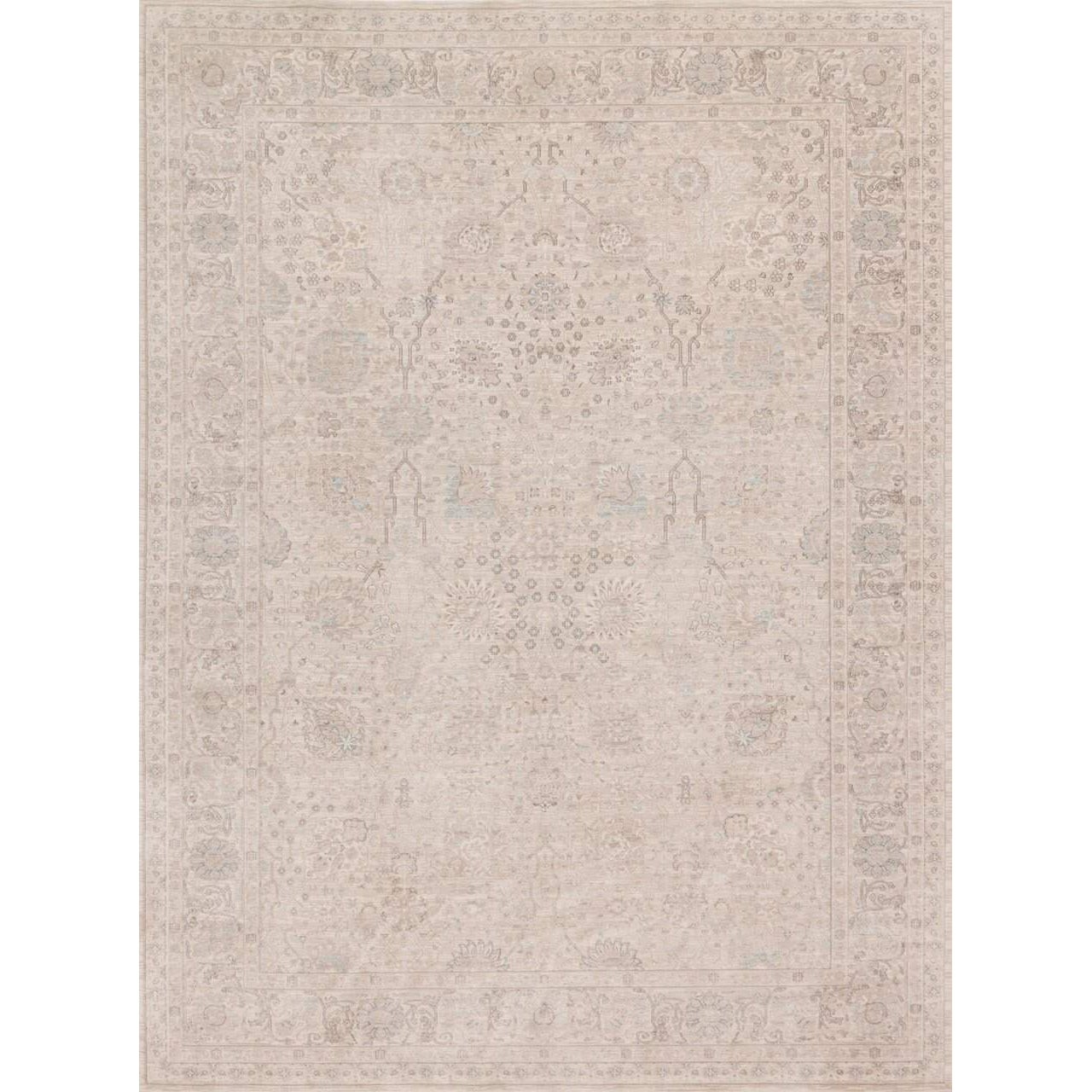 Joanna Gaines Magnolia Home Rug - Ella Rose Collection -  Natural / Natural