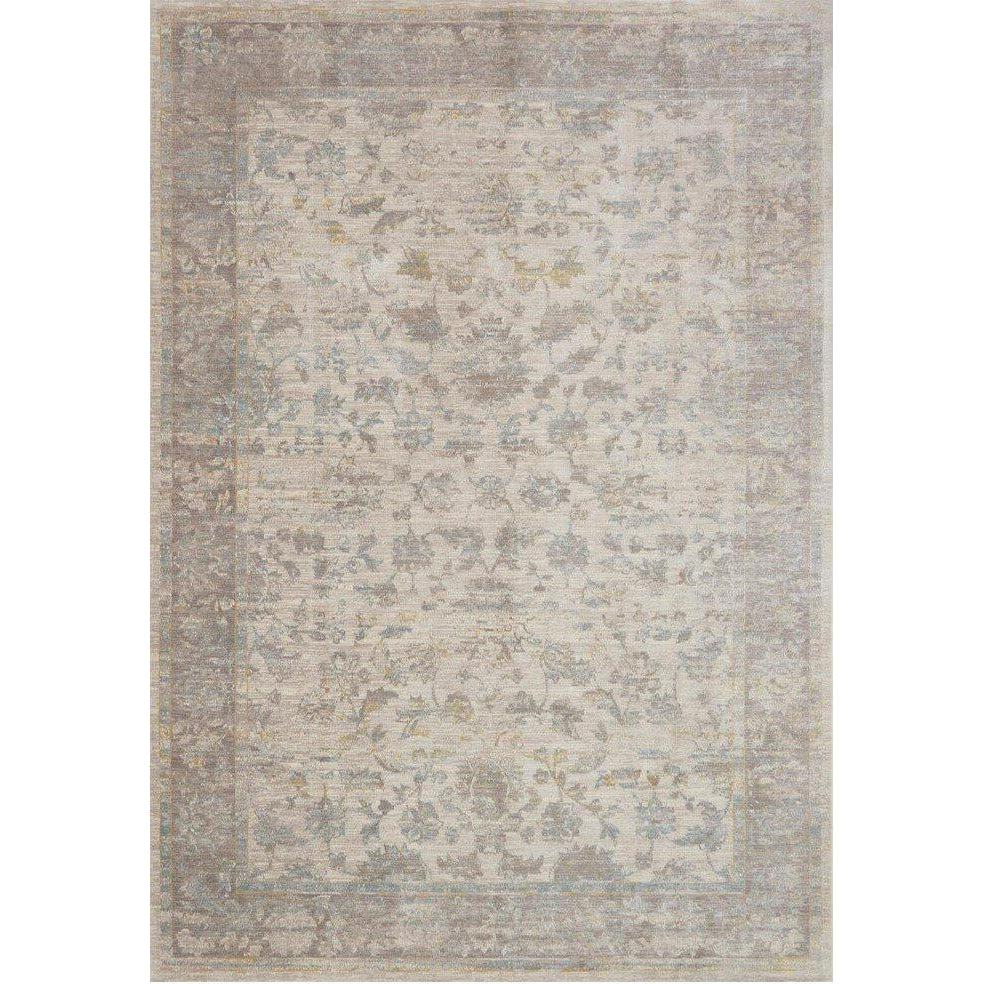 Joanna Gaines Magnolia Home Rug - Ella Rose Collection - Bone / Stone