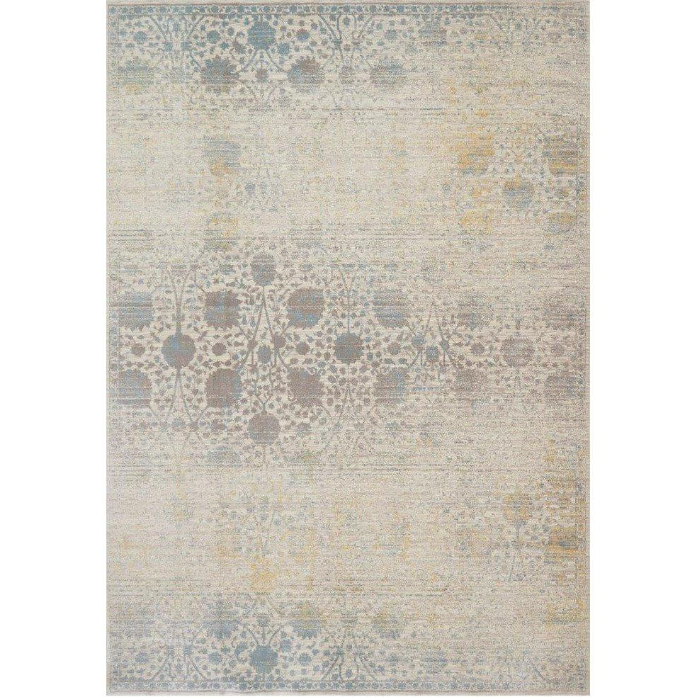 Joanna Gaines Magnolia Home Rug - Ella Rose Collection - Bone / Mist