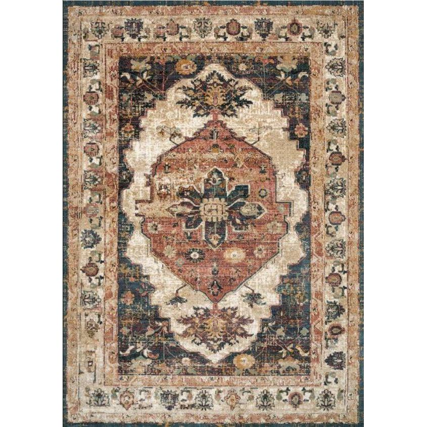 Joanna Gaines Evie Rug Collection - Ivory/Spice