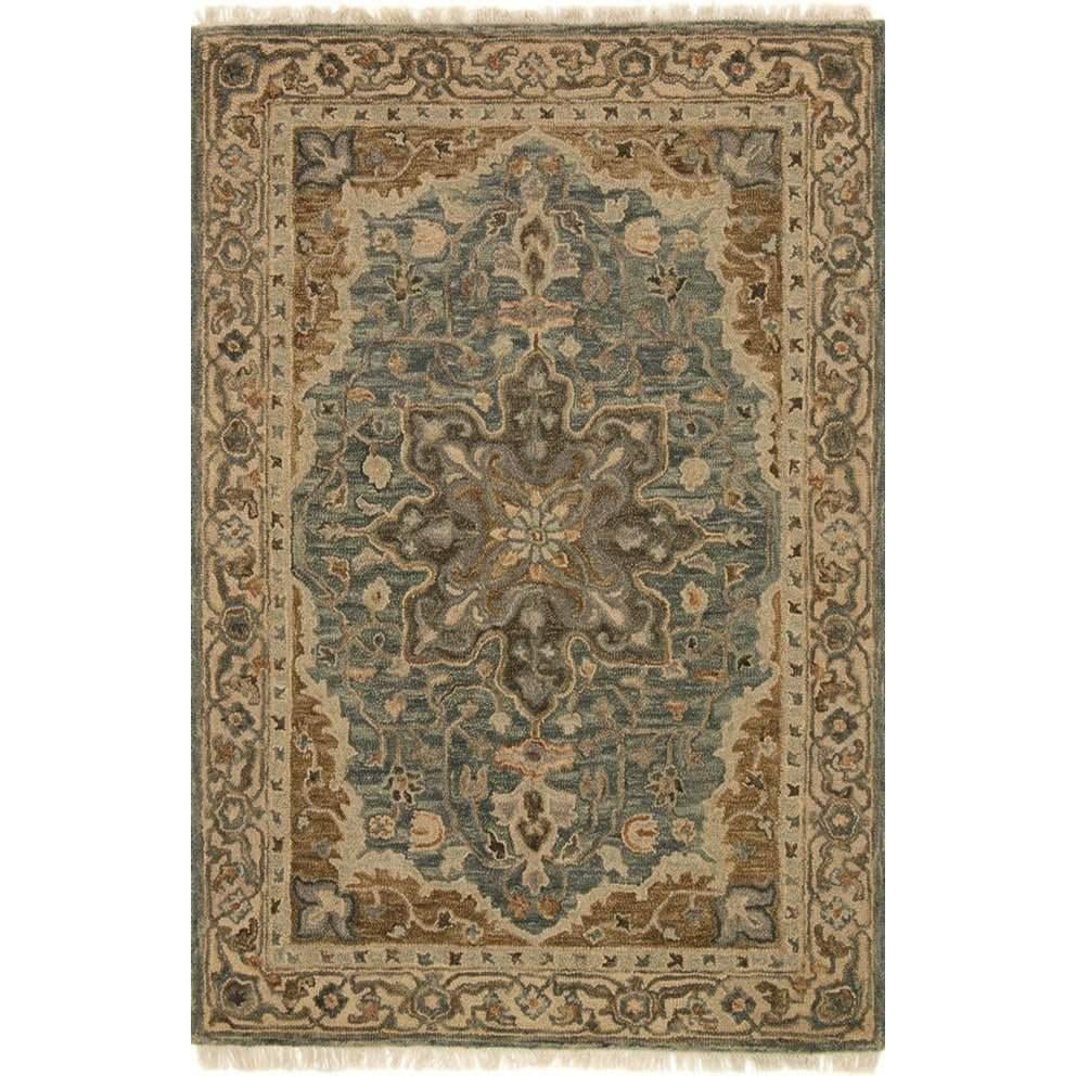 Joanna Gaines Hanover Rug Collection - OH-07 SLATE / BEIGE