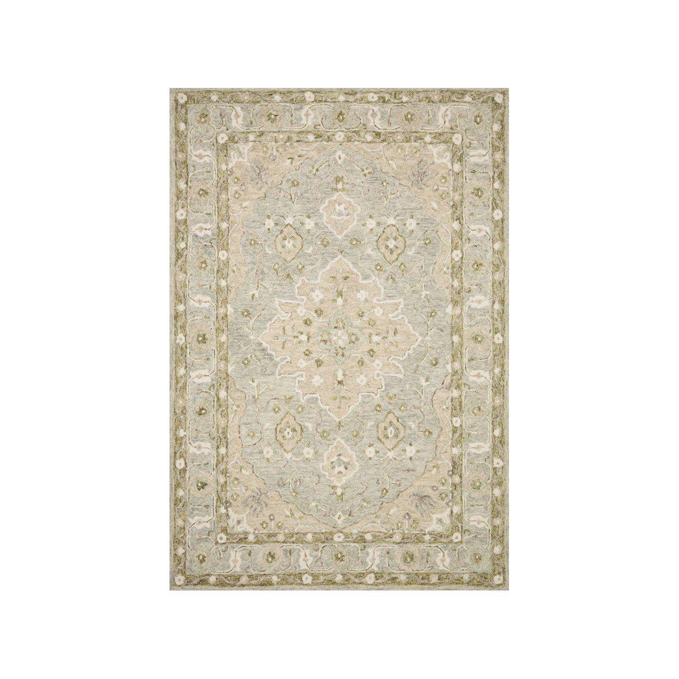 Joanna Gaines Ryeland Rug Collection - RYE-06 Grey/Sage