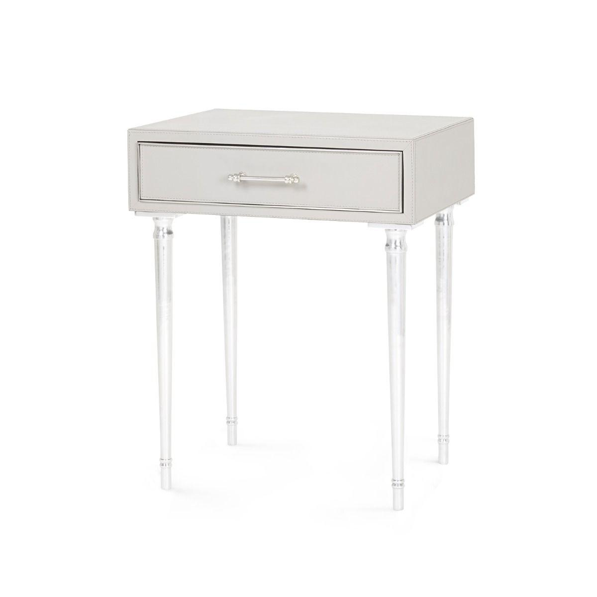 Bungalow 5 - Jolene 1-Drawer Side Table - Gray