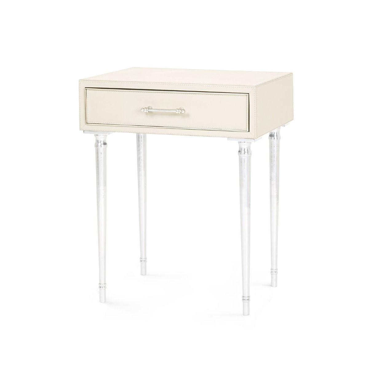 Bungalow 5 - Jolene 1-Drawer Side Table - Ivory