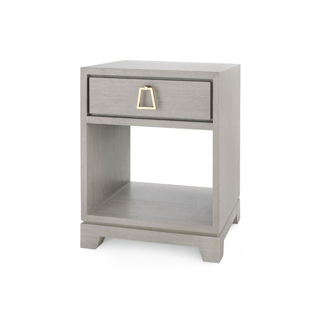 Bungalow 5 - Stanford 1-Drawer Side Table - Light Gray